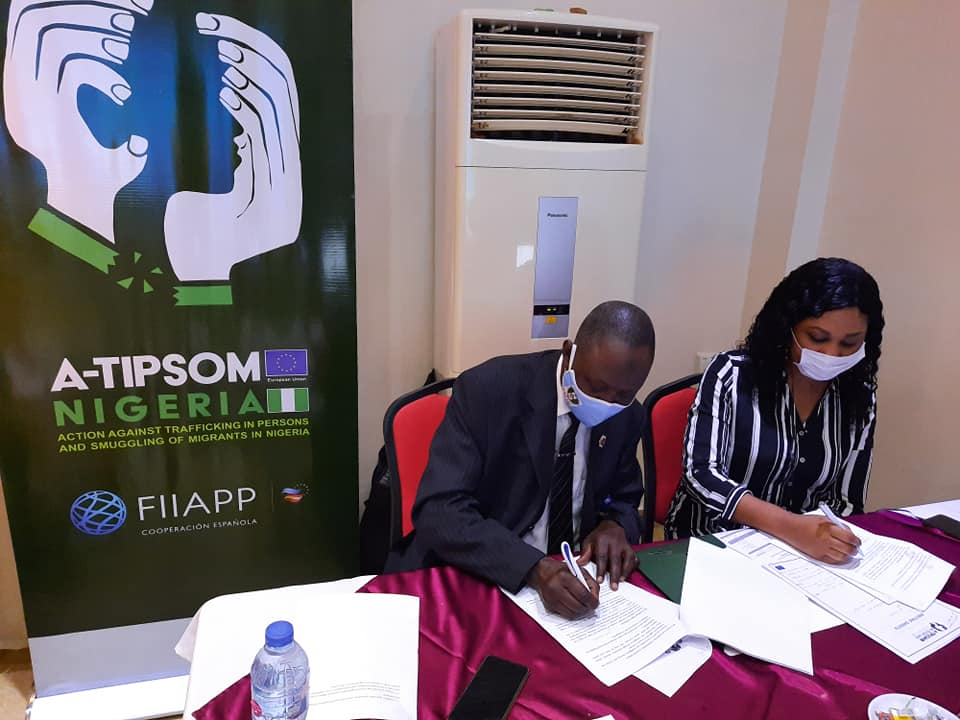 A-TIPSOM and NAPTIP Host Validation and Technical Finalization Workshop on Protocol for Identification, Safe Return and Rehabilitation
