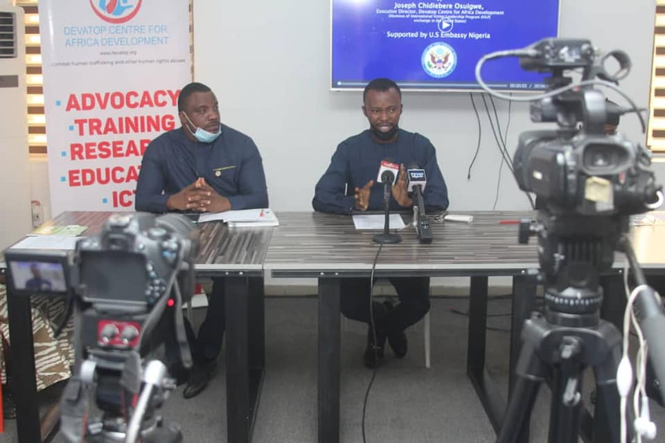 Through Support from U.S Embassy Abuja, 35 youth graduates as TALKAM Human Rights Advocates